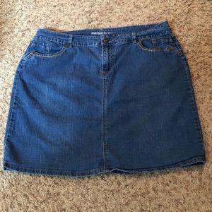 [Avenue] Jean Skirt
